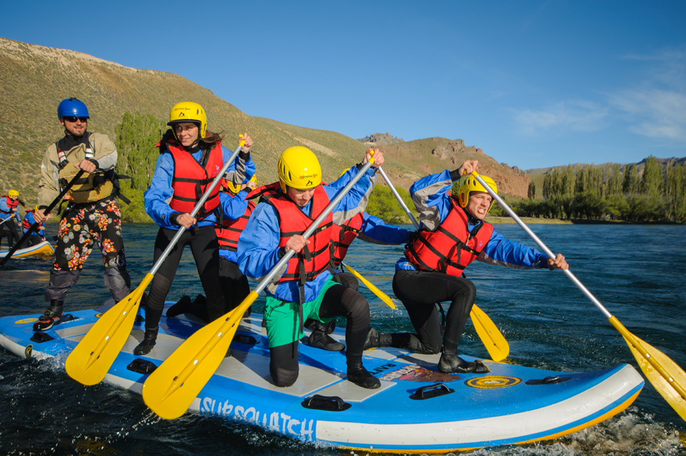 Extremo Sur - Stand Up Rafting